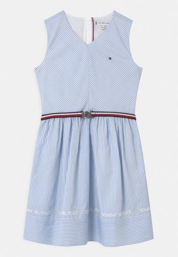 STRIPE V-NECK - Vestito elegante - calm blue