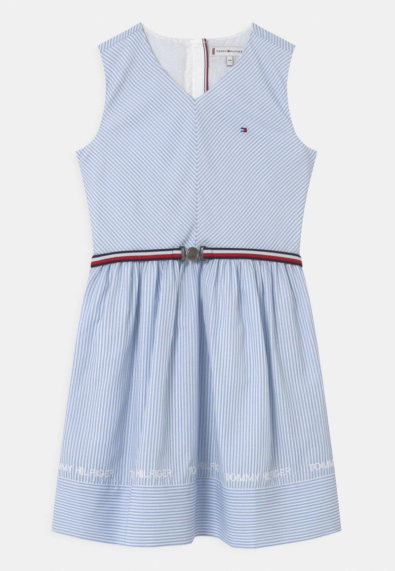 Tommy Hilfiger - STRIPE V-NECK - Vestito elegante - calm blue