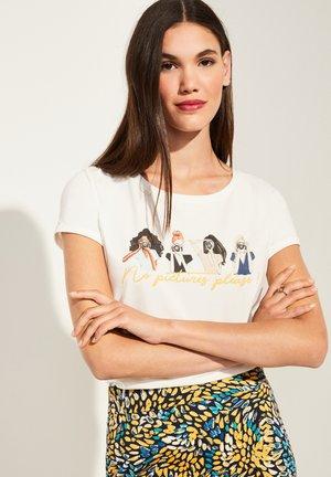 ARTWORK - Print T-shirt - white placed print