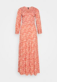 YAS Tall - YASDAMASK LONG DRESS - Robe longue - whisper pink - 4