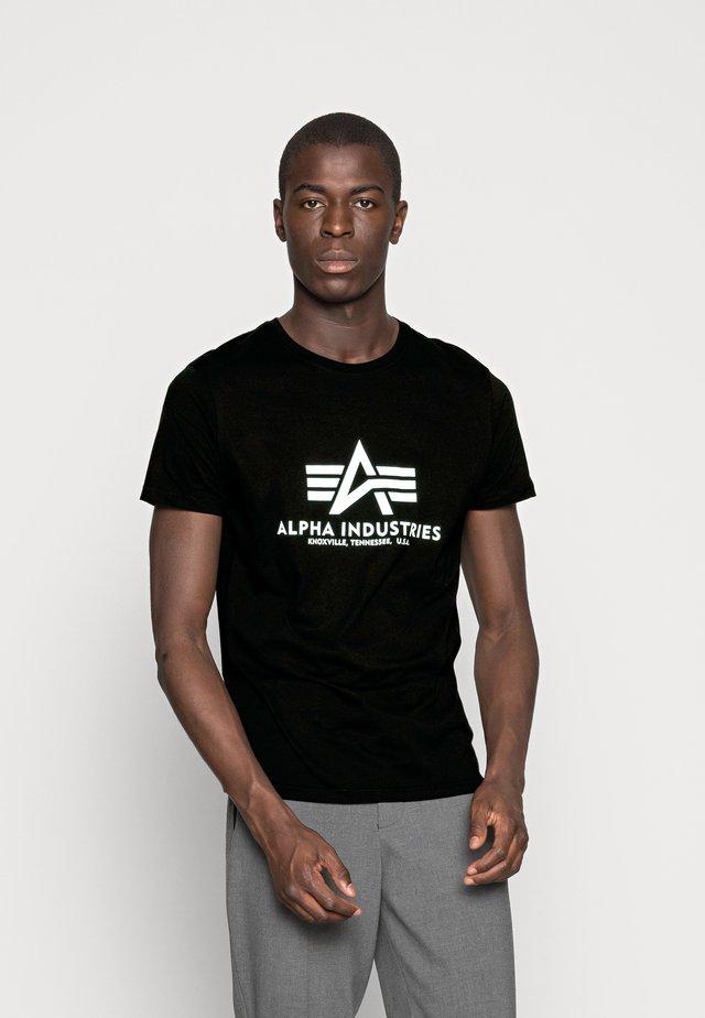 RAINBOW  - Print T-shirt - schwarz