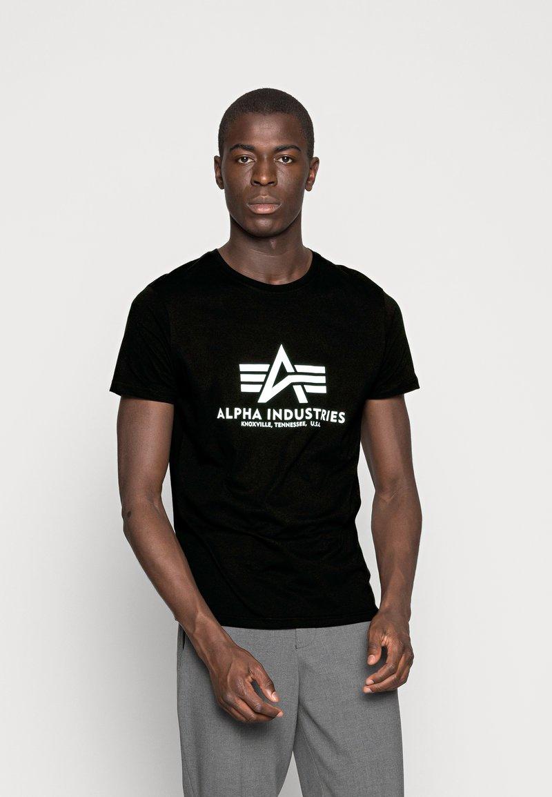 Alpha Industries - Printtipaita - schwarz