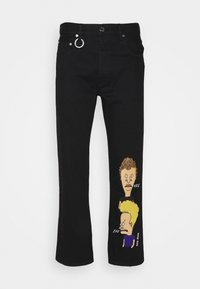 CORNER UNISEX - Relaxed fit jeans - black