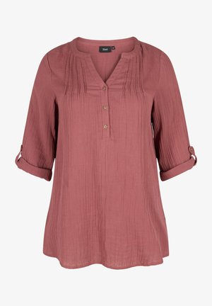 3/4-LENGTH SLEEVES - Tunic - red