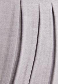 Bershka - A-line skirt - grey - 5