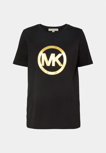 LOGO CLASSIC TEE - Print T-shirt - black