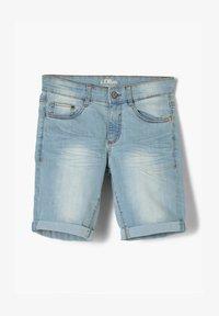 s.Oliver - REGULAR FIT  - Jeansshort - light blue - 0