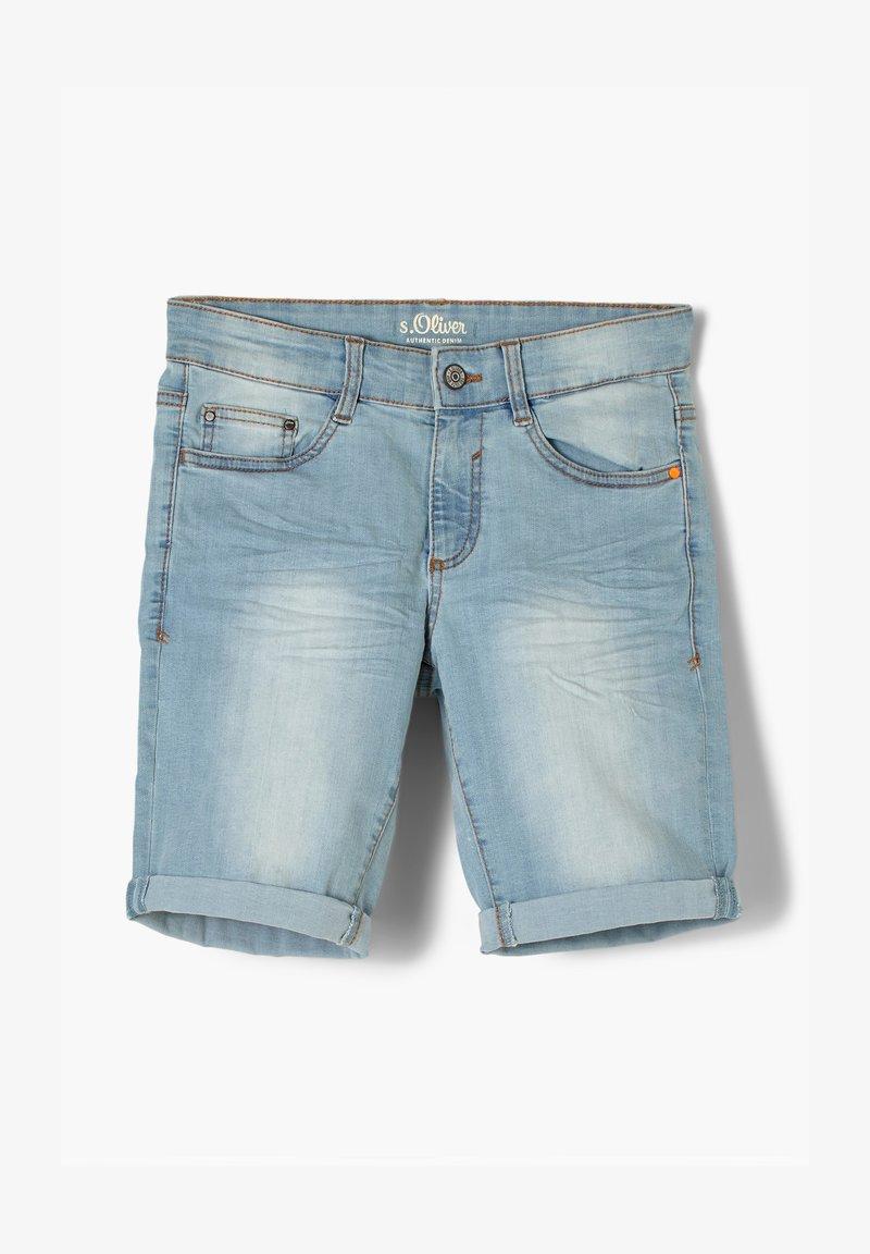 s.Oliver - REGULAR FIT  - Jeansshort - light blue