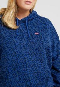 Levi's® Plus - GRAPHIC HOODIE - Hoodie - sodalite blue - 4