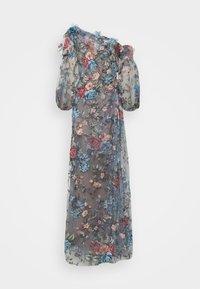 Marchesa - OFF THE SHOULDER GOWN - Společenské šaty - smokey blue - 8