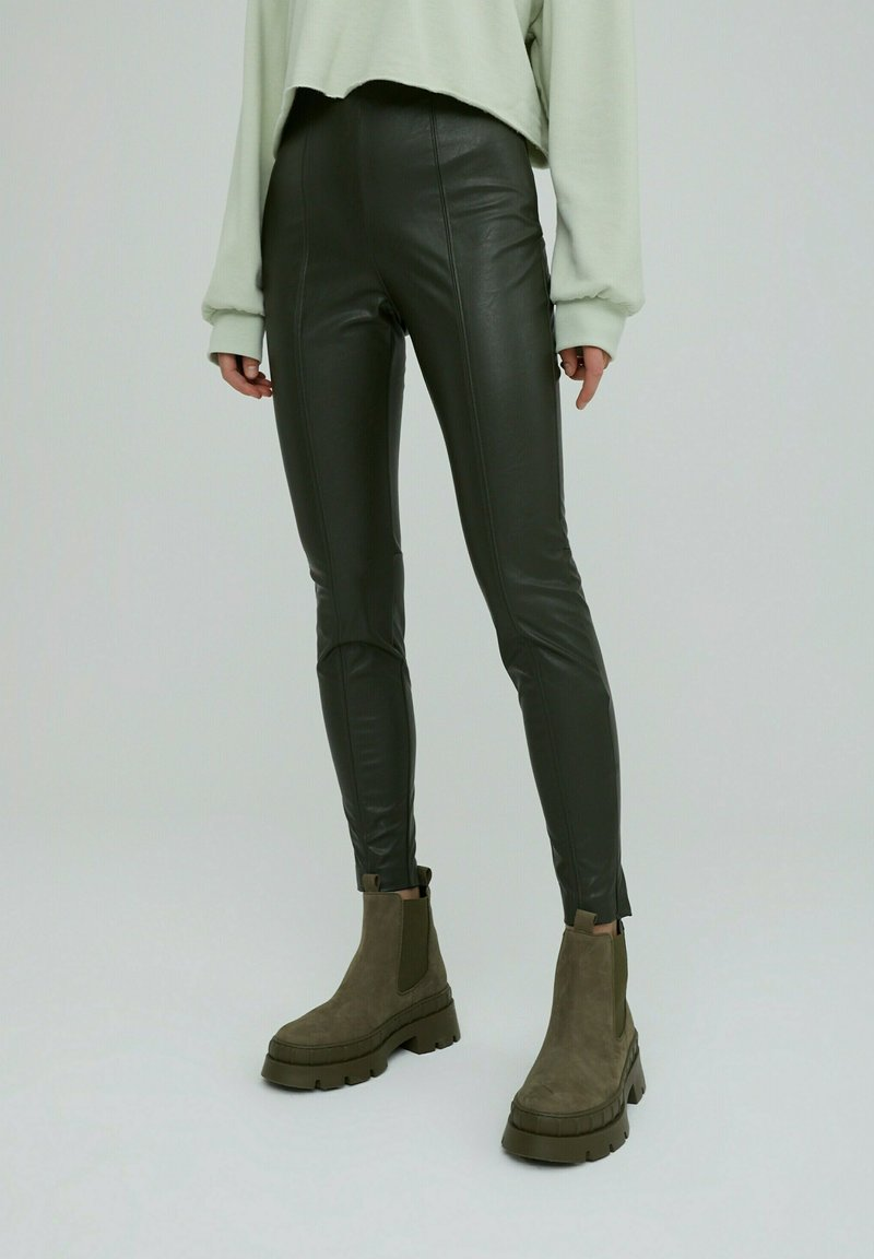 EDITED - LEGGINGS TERESA - Leggings - Trousers - grün