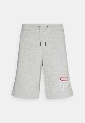 JARED SHORTS - Sports shorts - light grey melange