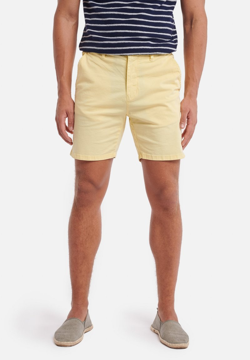 Shiwi - SHIWI MEN STRETCH COTTON JACK - Shorts - miami lemon