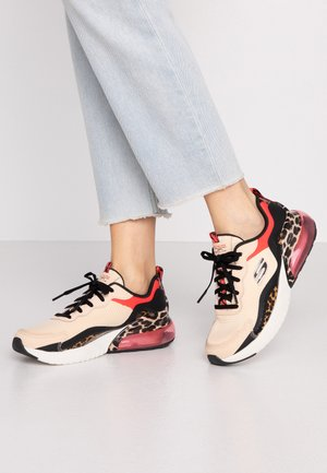 AIR STRATUS - Sneakers laag - natural/black hot melt/red