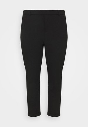 VMMAYA MR LOOSE SOLID PANT - Stoffhose - black
