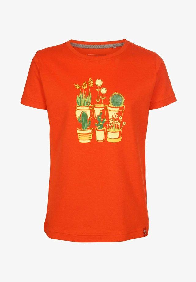 PLANTSAREFRIENDS - Print T-shirt - cherrytomato