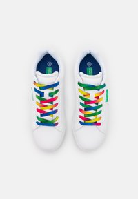 Benetton - LABEL LACES - Sneakers laag - white - 5