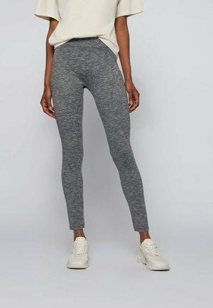 ERINA - Leggings - Trousers - silver