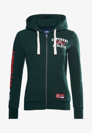 COLLEGIATE ATHLETIC  - Zip-up hoodie - enamel green