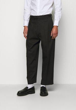 CHAPLIN TROUSERS - Trousers - black