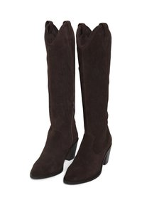 ICHI - Cowboy/biker ankle boot - cappuccino - 3