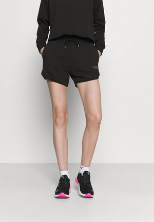 MODERN BASICS HIGH WAIST - Pantalón corto de deporte - black
