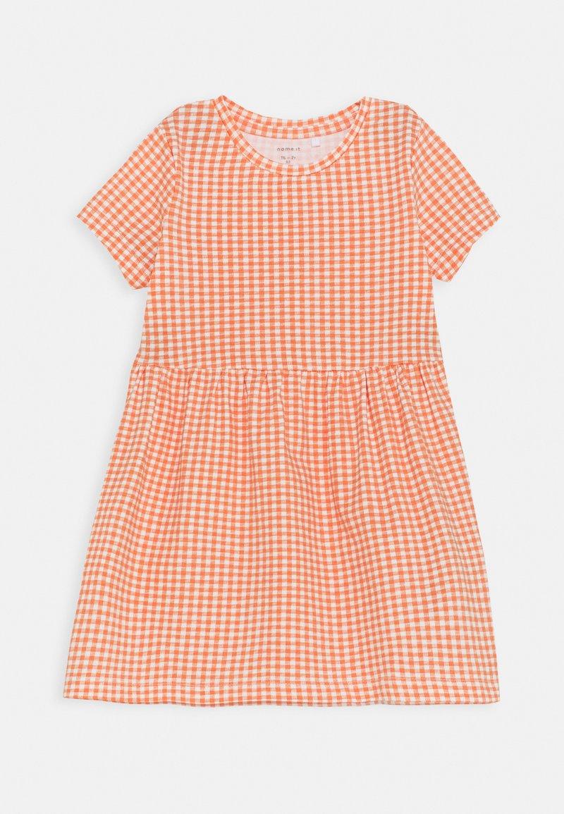 Name it - NMFDAMAR DRESS - Jersey dress - persimmon