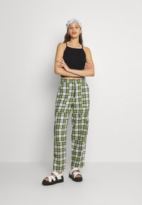 The Ragged Priest - GRANGER - Trousers - green/white - 1