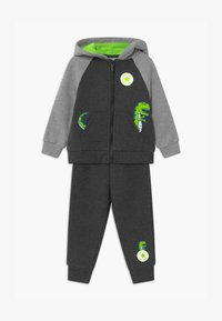 Converse - COLORBLOCK DINO SET - Tracksuit - black heather - 0