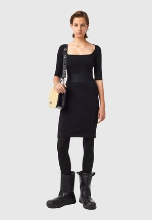 D-SUBBY - Day dress - black
