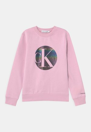 CIRCLE MONOGRAM  - Sweatshirt - purple