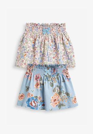 2 PACK  - A-line skirt - multi-coloured