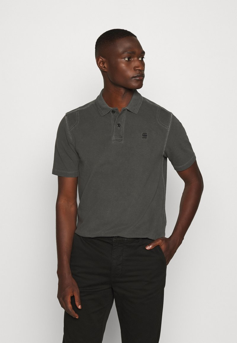 G-Star - BLAST POLO - Polo shirt - dark black