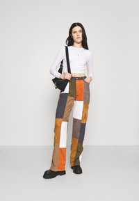 Jaded London - PATCHWORK WIDE LEG TROUSER - Trousers - multi - 1