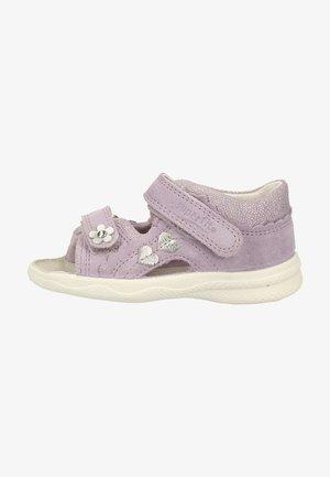 Walking sandals - purple