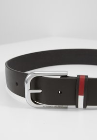 Tommy Jeans - PIN BUCKLE FLAG INLAY - Belt - black - 2