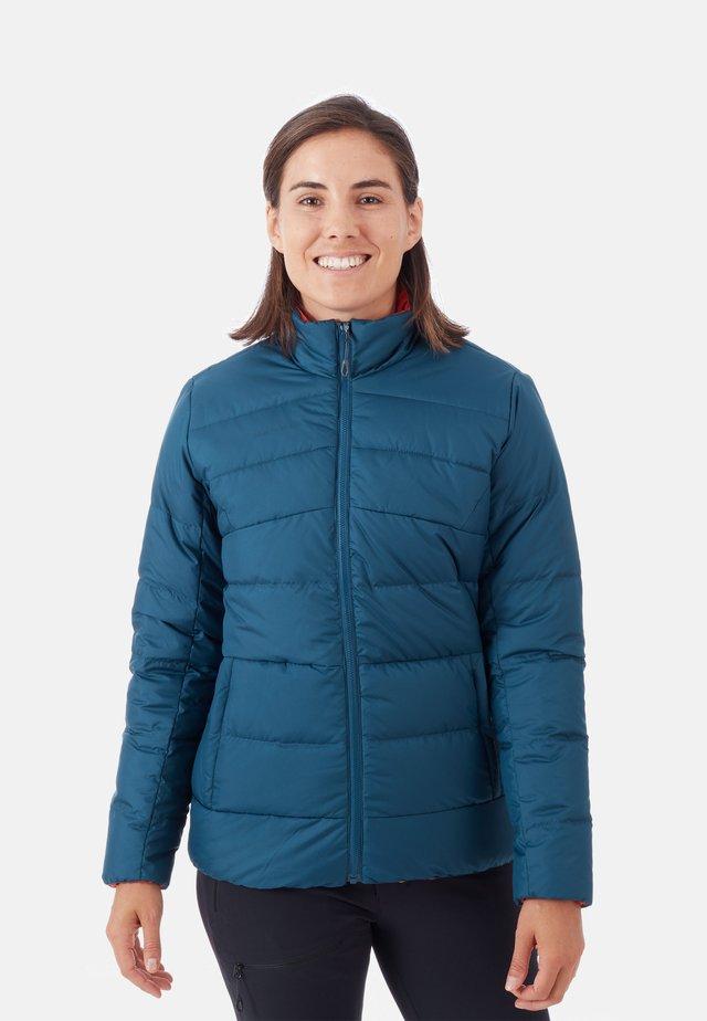 WHITEHORN - Gewatteerde jas - blue/orange