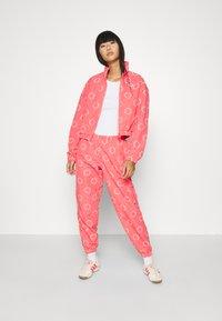 adidas Originals - TRACK TOP - Summer jacket - magic pink/white - 1