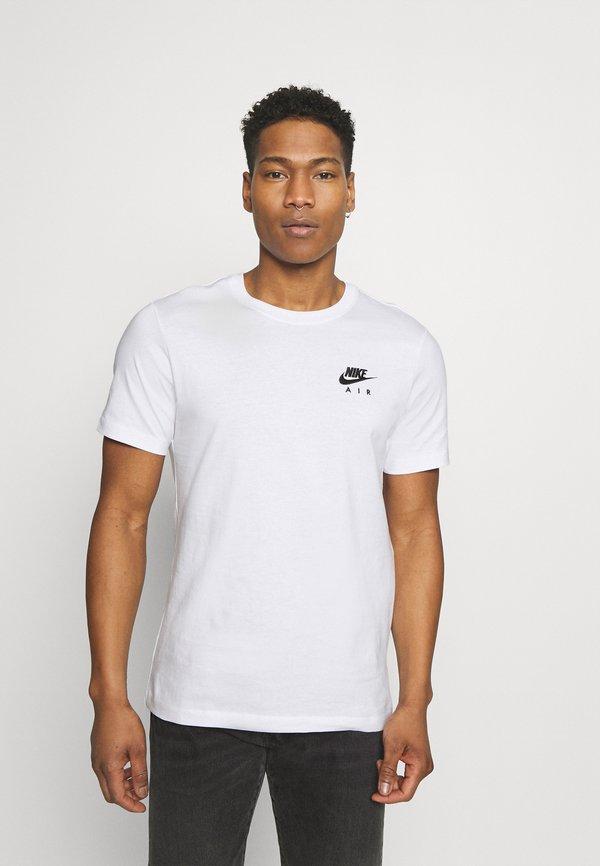 Nike Sportswear TEE NIKE AIR - T-shirt z nadrukiem - white/biały Odzież Męska VIVY
