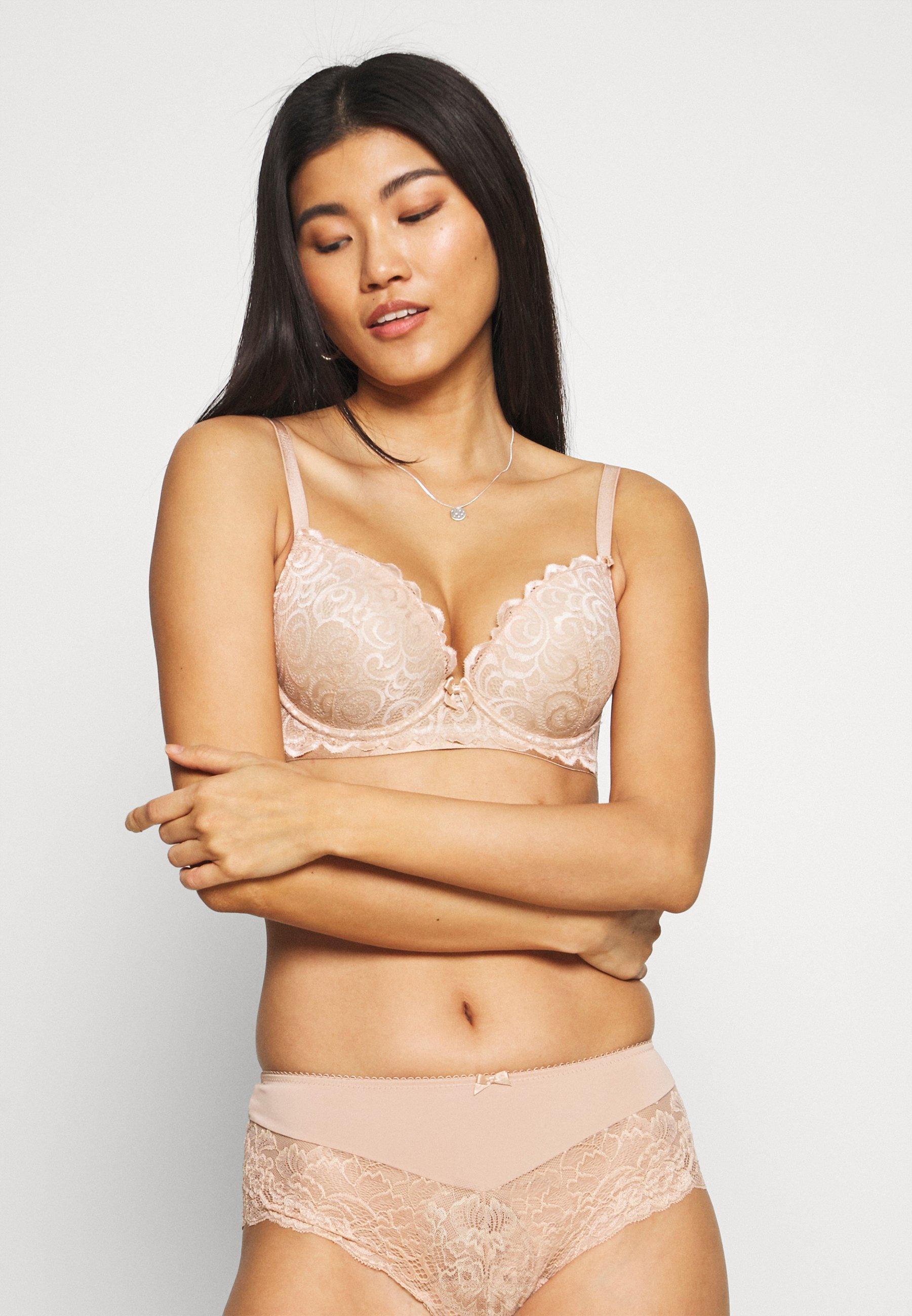 Women ROMANCE MOULDED PLUNGE BRA - Push-up bra