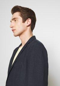 120% Lino - Blazer jacket - blue navy - 3