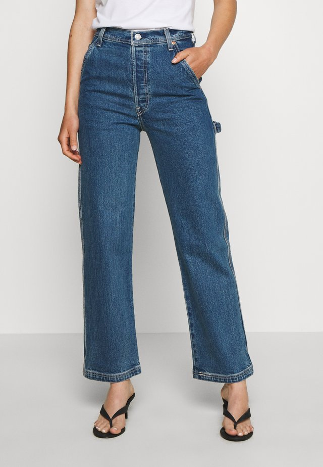 RIBCAGE ANKLE UTILITY - Jeans a sigaretta - nine to five