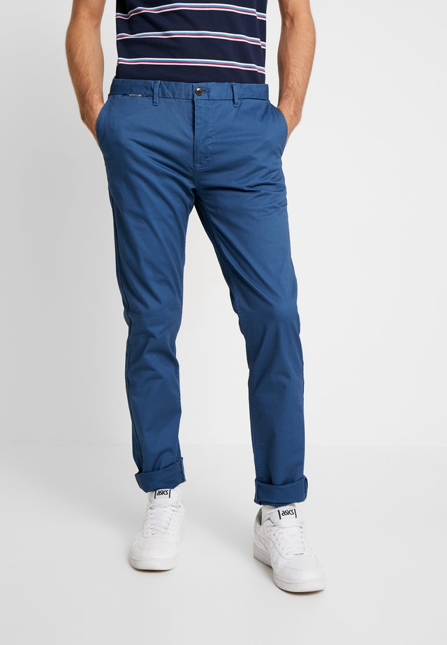 MOTT CLASSIC - Pantalones chinos - worker blue
