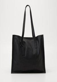 LEATHER - Bolso shopping - black