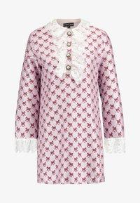 Sister Jane - FOAL RUFFLE MINI DRESS - Shirt dress - pink - 5