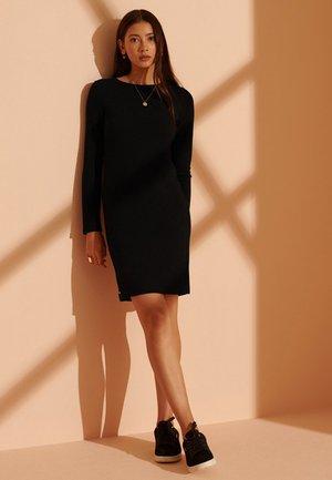 OTTOMAN BODYCON  - Jersey dress - black
