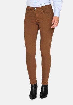 Jeans Skinny Fit - cognac