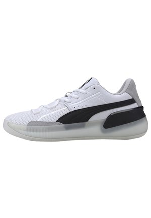 SCHUHE CLYDE HARDWOOD - Trainers - white/black