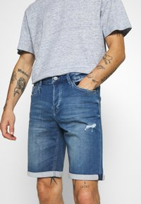 Only & Sons - ONSPLY  - Jeansshorts - blue denim - 3
