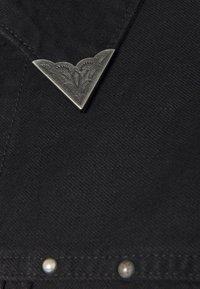 Polo Ralph Lauren - TRUCKER JACKET - Denim jacket - black - 3